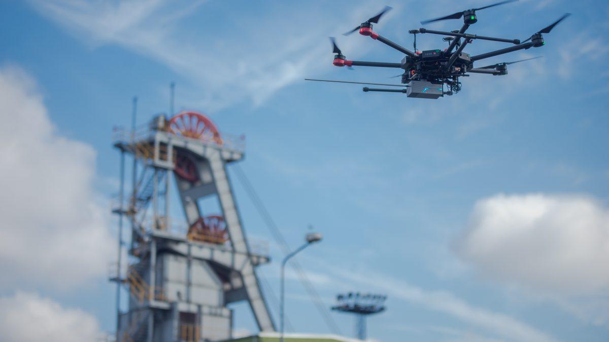 Centralnoeuropejski Demonstrator Dronów powstaje w woj. śląskim