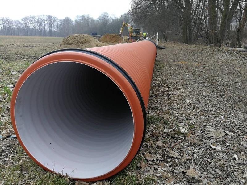 Ponad 10 kilometrów nowej sieci kanalizacji deszczowej