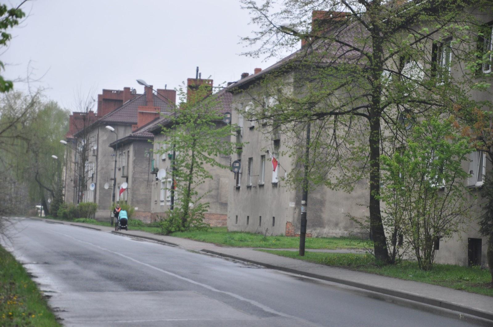 Budynki w dzielnicy Sowice