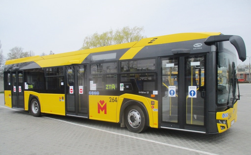Zdjęcie autobusu typu Solaris