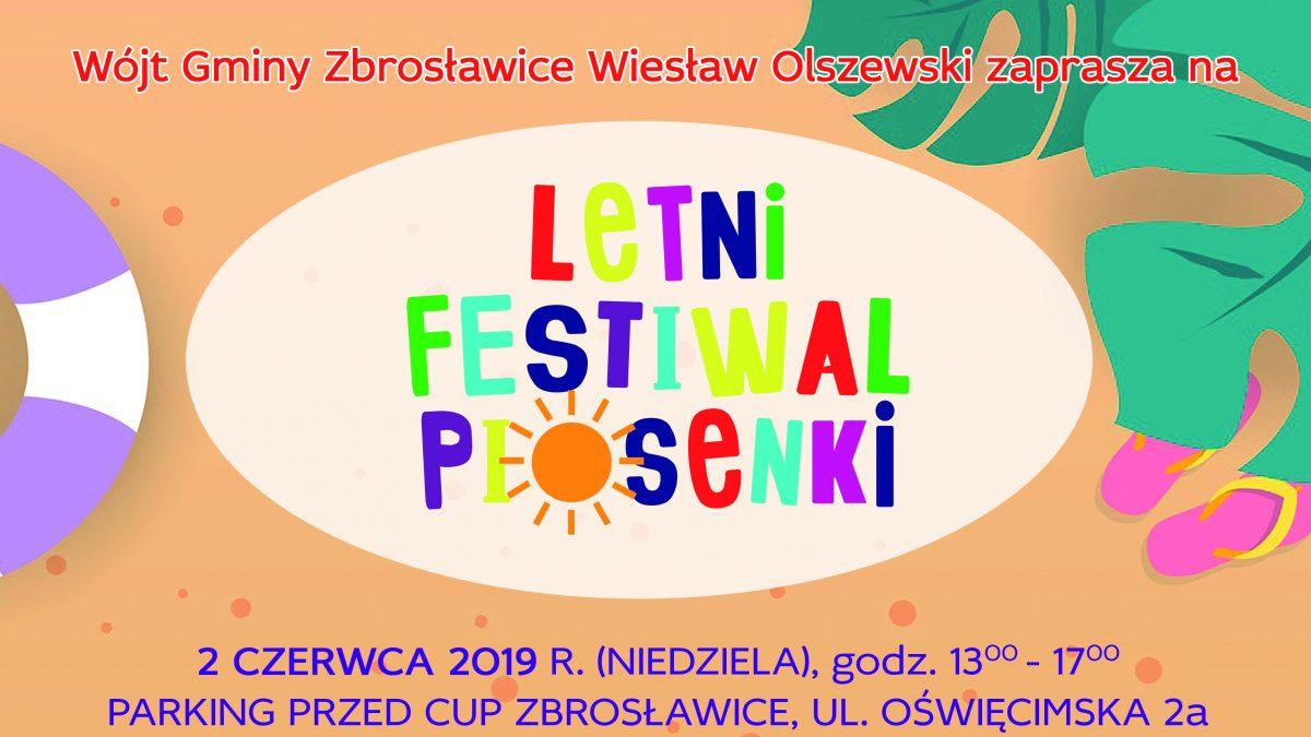 Letni Festiwal Piosenki w Zbrosławicach