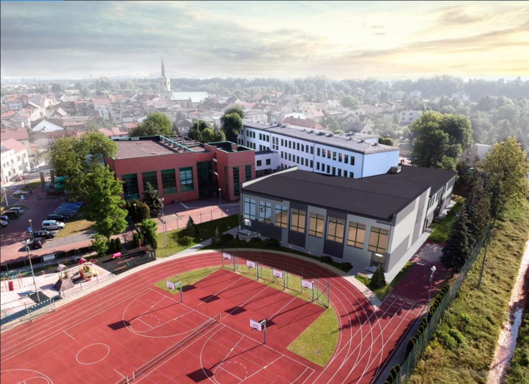 Bieruń rozwija infrastrukturę sportową. Ruszyła budowa nowej sali sportowej