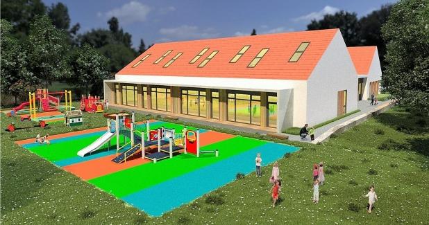 Tak będzie wyglądać Miejskie Przedszkole w Smolnicy!