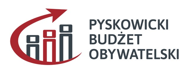 Grafika z napisem Pyskowicki Budżet Obywatelski