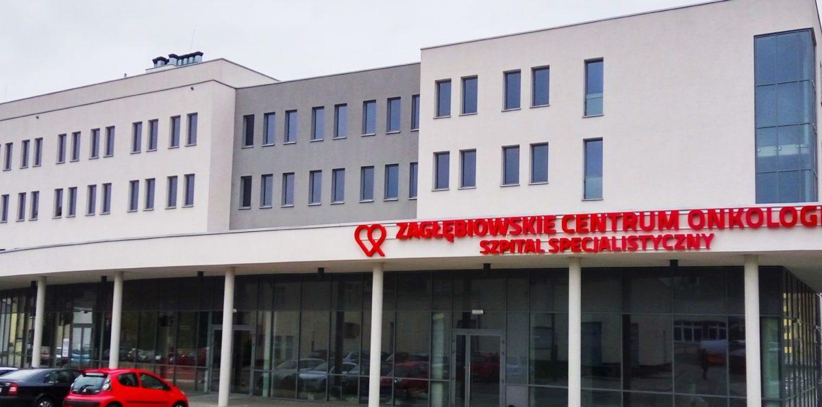 Fasada Zagłebiowskiego Centrum Onkologii