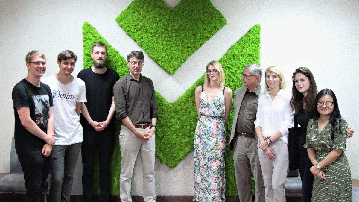 Studenci z Uniwersytetu Technicznego w Dortmundzie gośćmi Metropolii