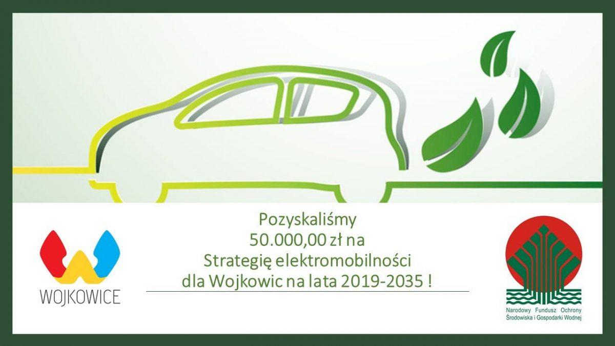 Grafika przedstawiająca samochód zamiast spalin liście