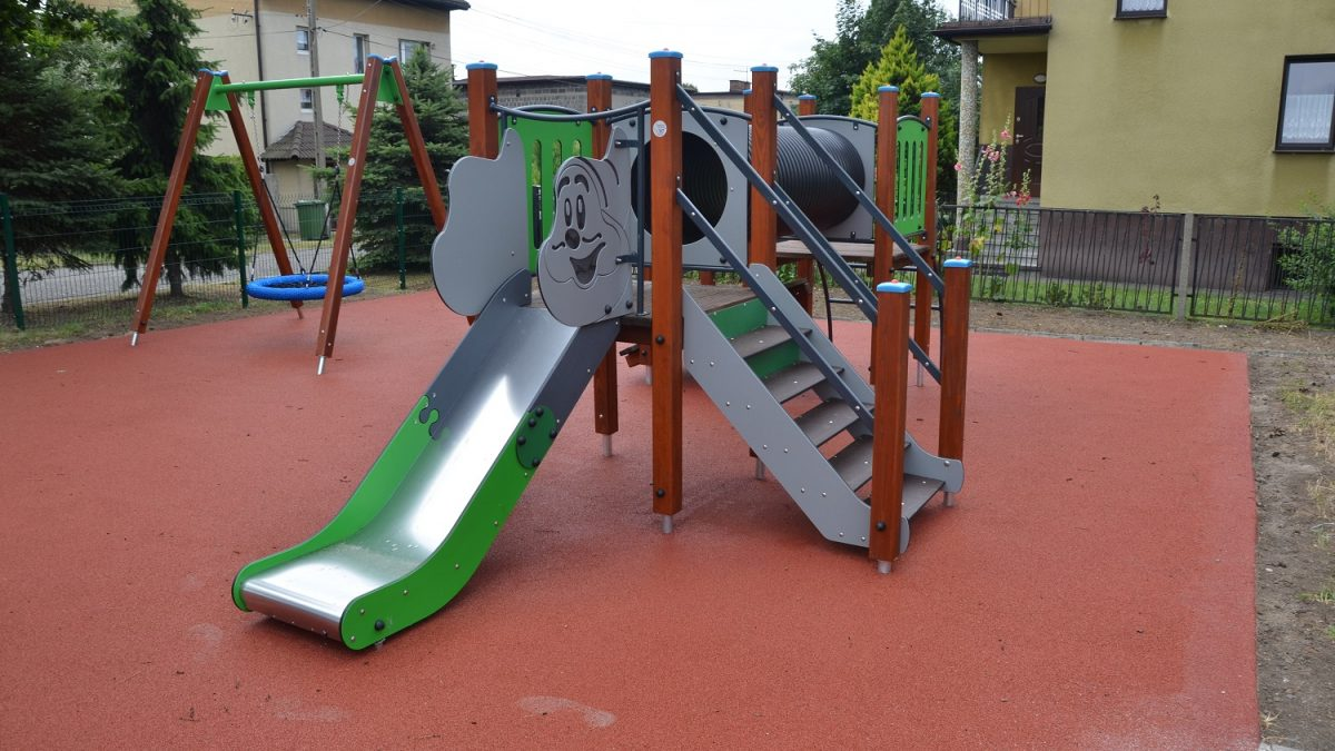 Bieruń: Przy ulicy Solidarności powstał nowy plac zabaw