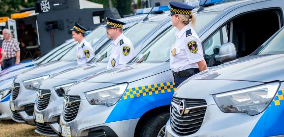 Nowe samochody dla Straży Miejskiej