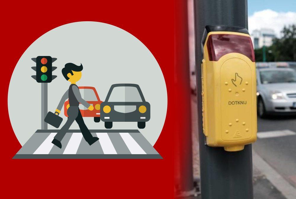 Światła drogowe działają