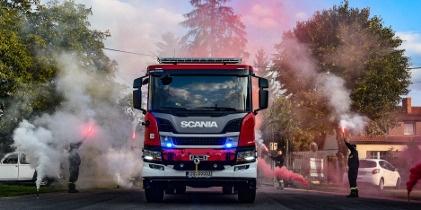 Wóz strażacki dla OSP w Bobrownikach