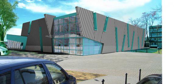 Wizualizacja basenu w Sosnowcu