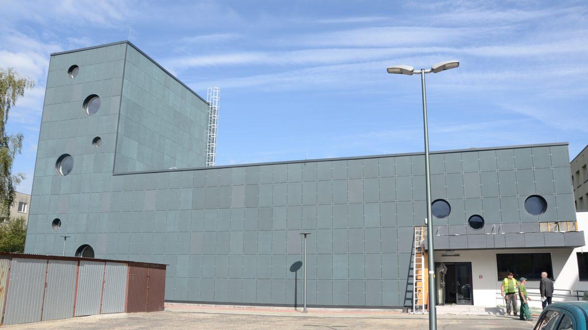 Budowa Homera Centrum na ostatniej prostej
