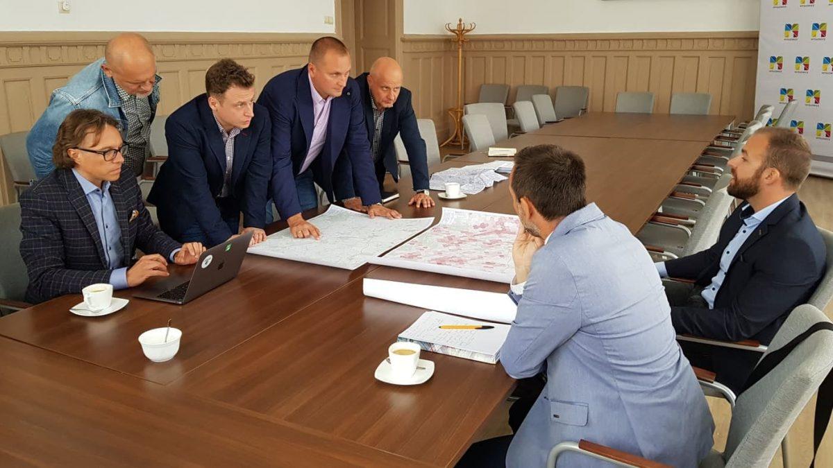 Spotkanie dotyczące budowy metropolitalnej drogi rowerowej