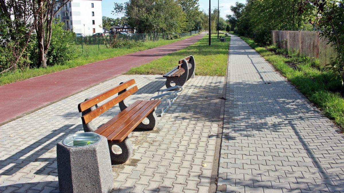 Ścieżka rowerowa w Rudzie Śląskiej