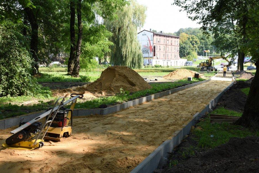 Park Ludowy w odnowie