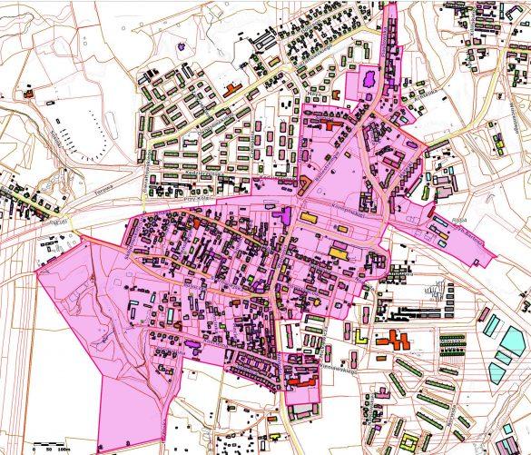 Planowany obszar parku kulturowego w Rudzie