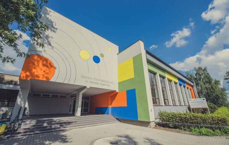 Nowa odsłona budynku SP1
