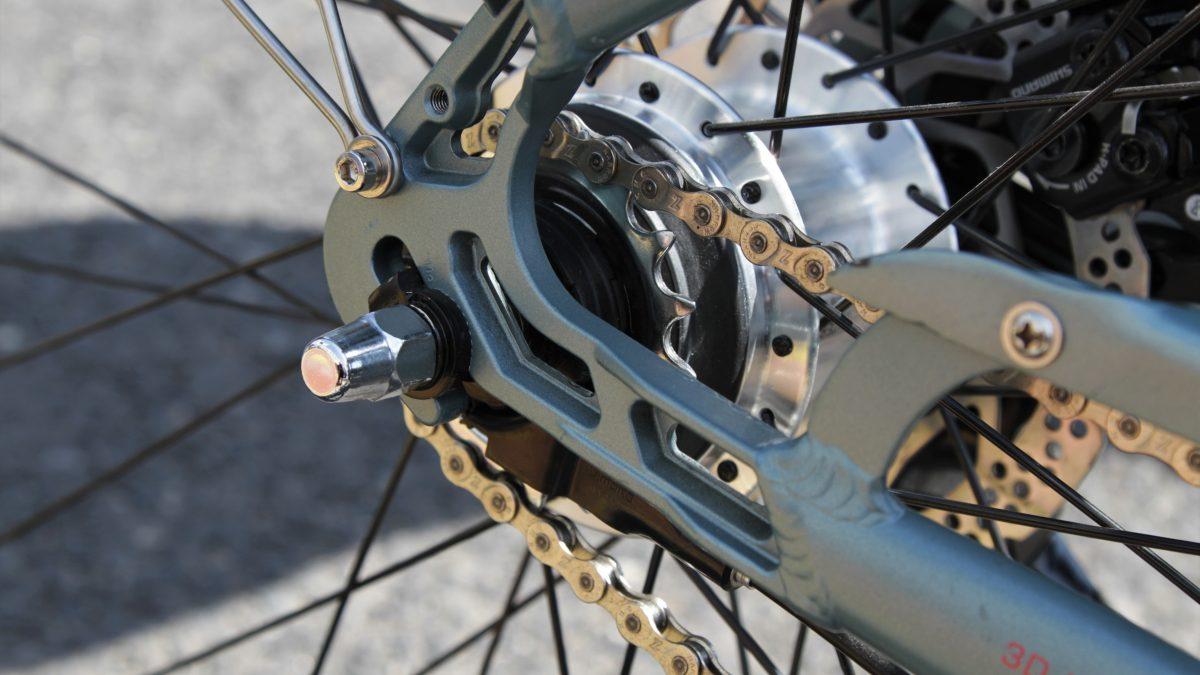 Zdjęcie tylniego koła roweru