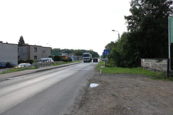 Droga wojewódzka w Psarach
