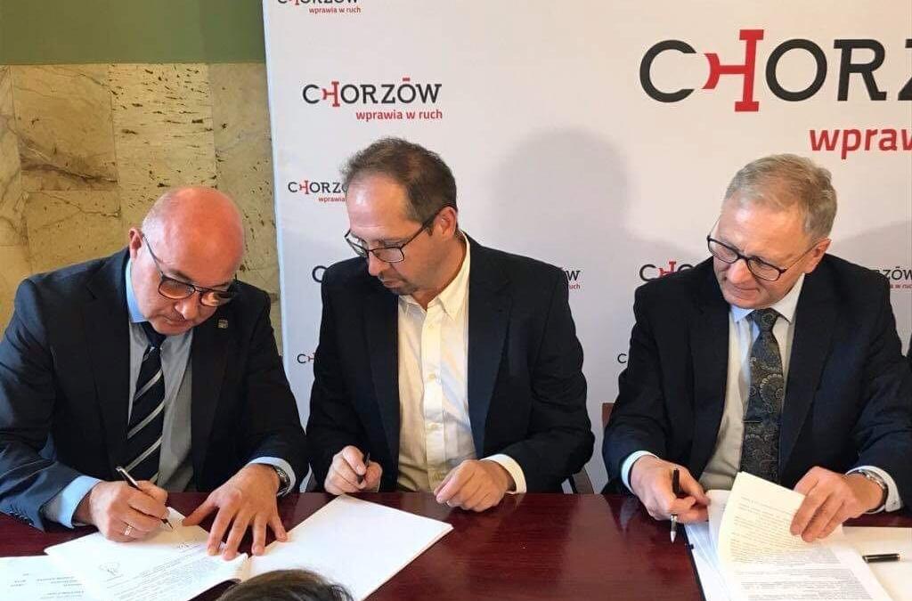 Początek modernizacji ul. 3 Maja w Chorzowie!