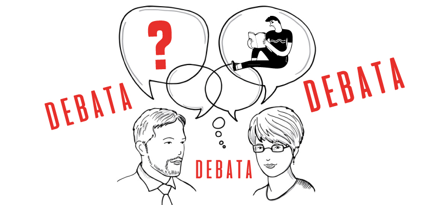 Debata w Miejskiej Bibliotece Publicznej