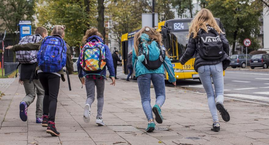 Bezpieczni w drodze do szkoły