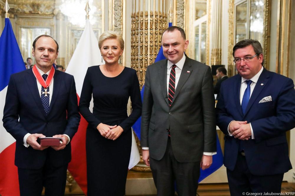 Waldemar Legień odznaczony Krzyżem Komandorskim Orderu Odrodzenia Polski