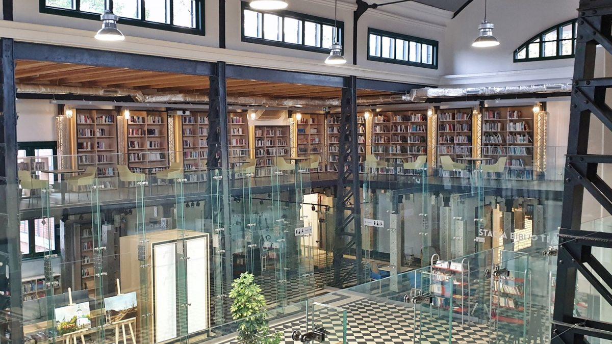 Biblioteka na dworcu już działa