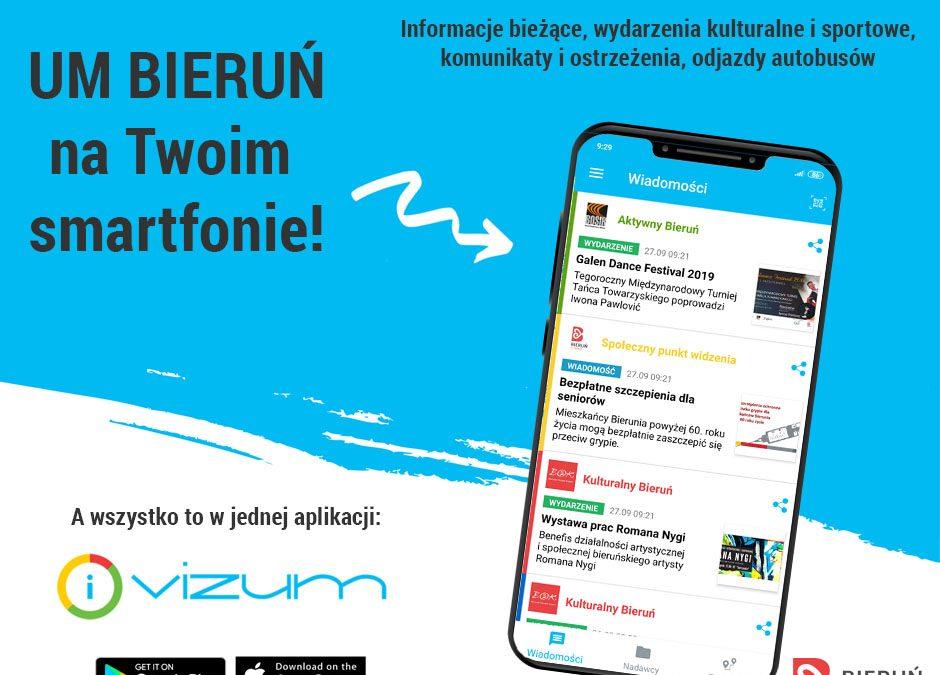 UM Bieruń w aplikacji VIZUM!