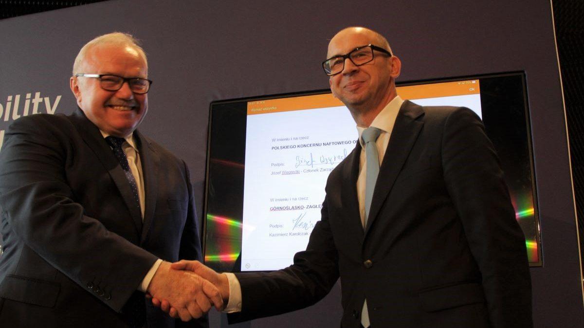 PKN Orlen i Metropolia GZM razem na rzecz wodorowego paliwa przyszłości