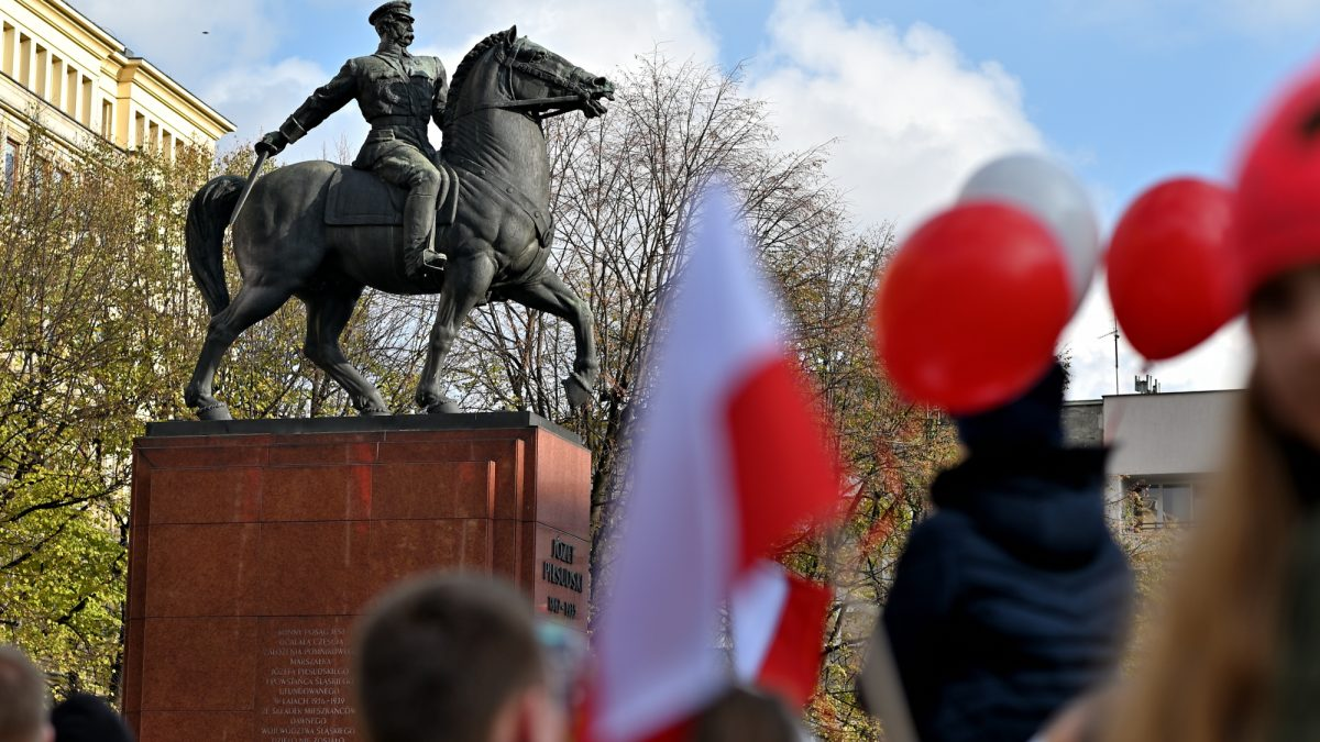 Święto Niepodległości w Katowicach. Cieszymy się z wolności