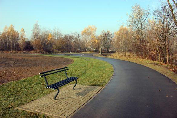 Rolkowisko w parku Strzelnica w Rudzie Śląskiej