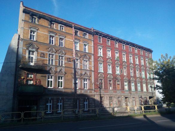 Zdjęcie budynku w Bytomiu