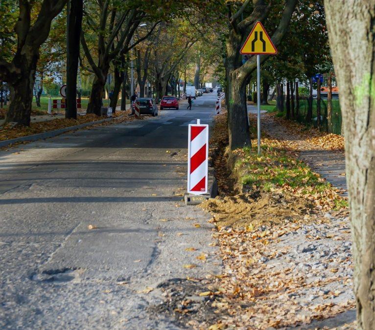 Drogowcy ruszyli z pracami na ulicy Małachowskiego w Bytomiu