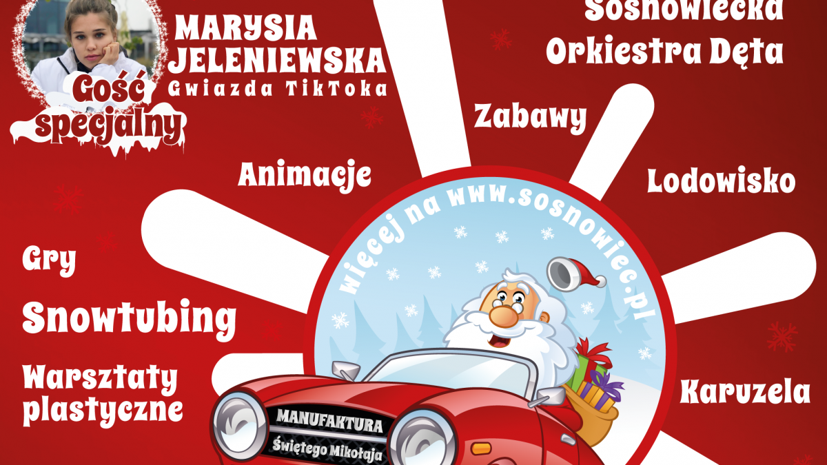 Otwieramy Manufakturę Świętego Mikołaja z gościem specjalnym