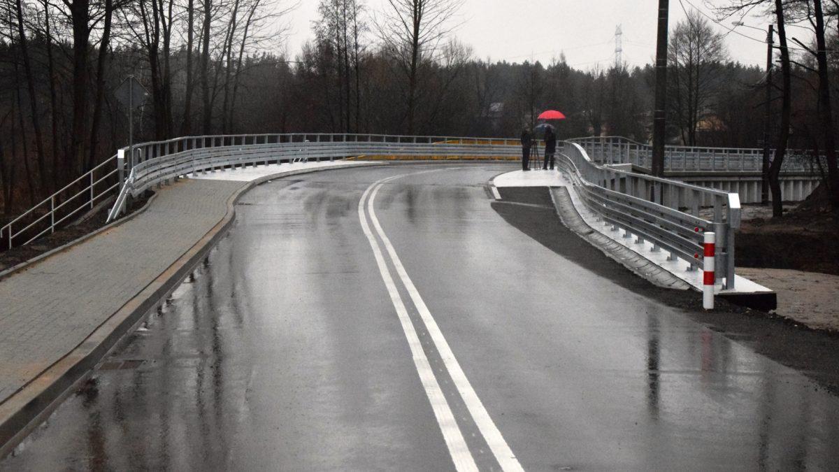 Oficjalne otwarcie mostu nad rzeką Mitręgą w Siewierzu