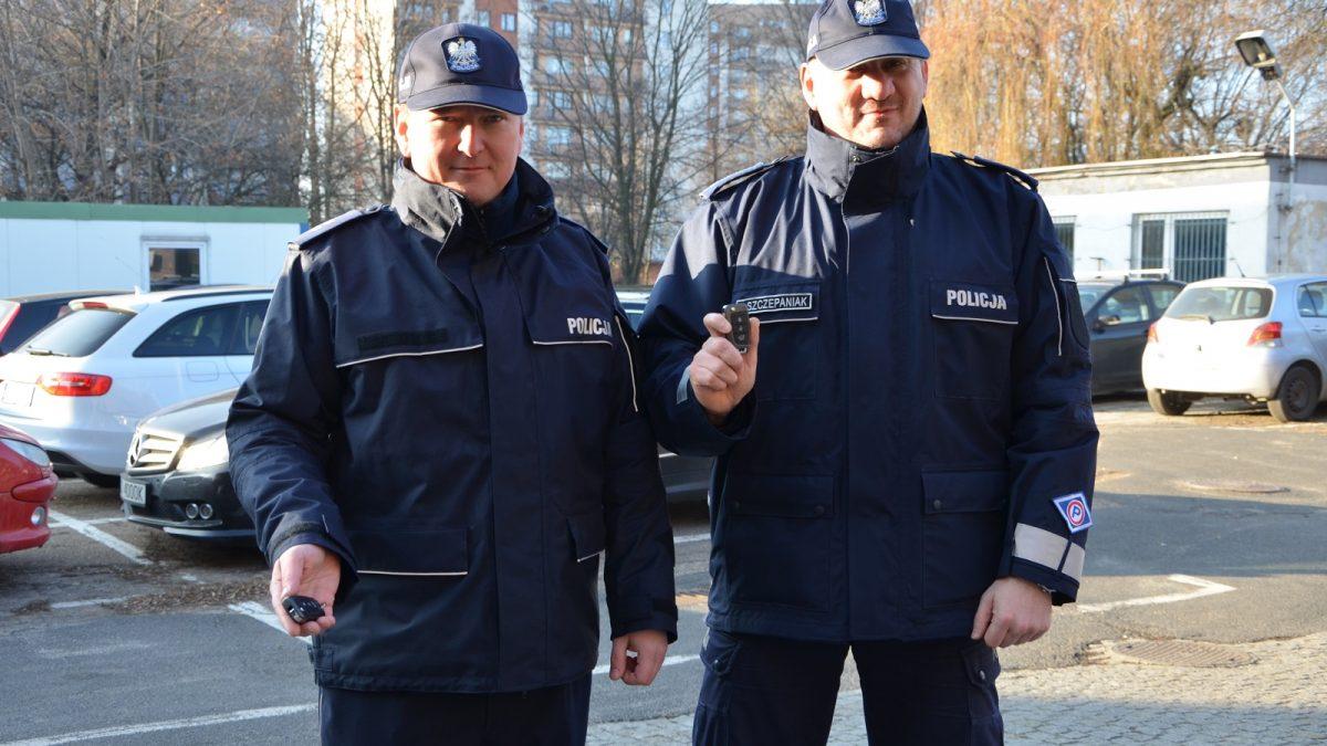 Nowe pojazdy dla zabrzańskiej policji