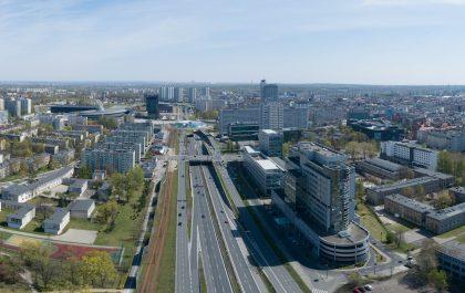 Katowice z lotu ptaka