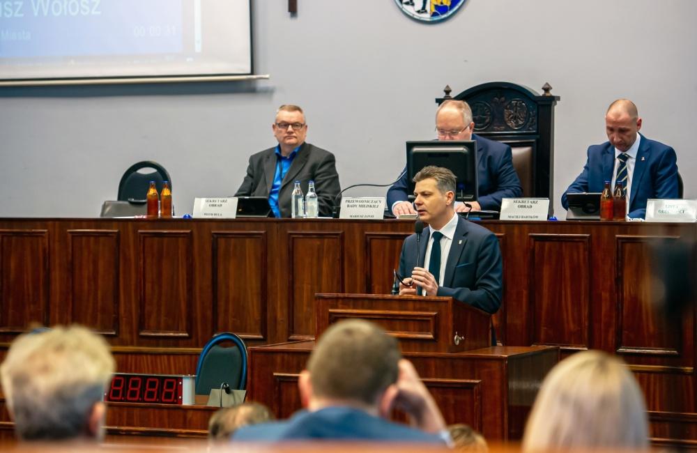 Sesja rady miejskiej w Bytomiu
