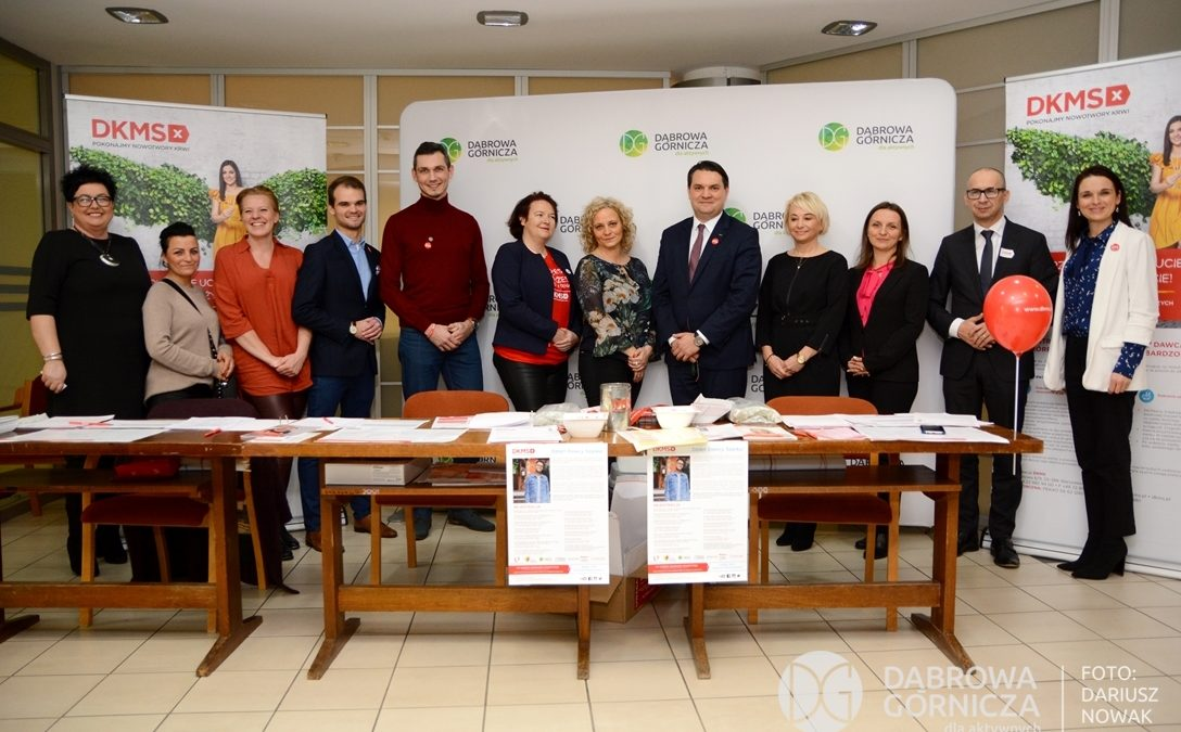 Metropolia oraz samorządowcy z Zagłębia zachęcają do zostania dawcą szpiku