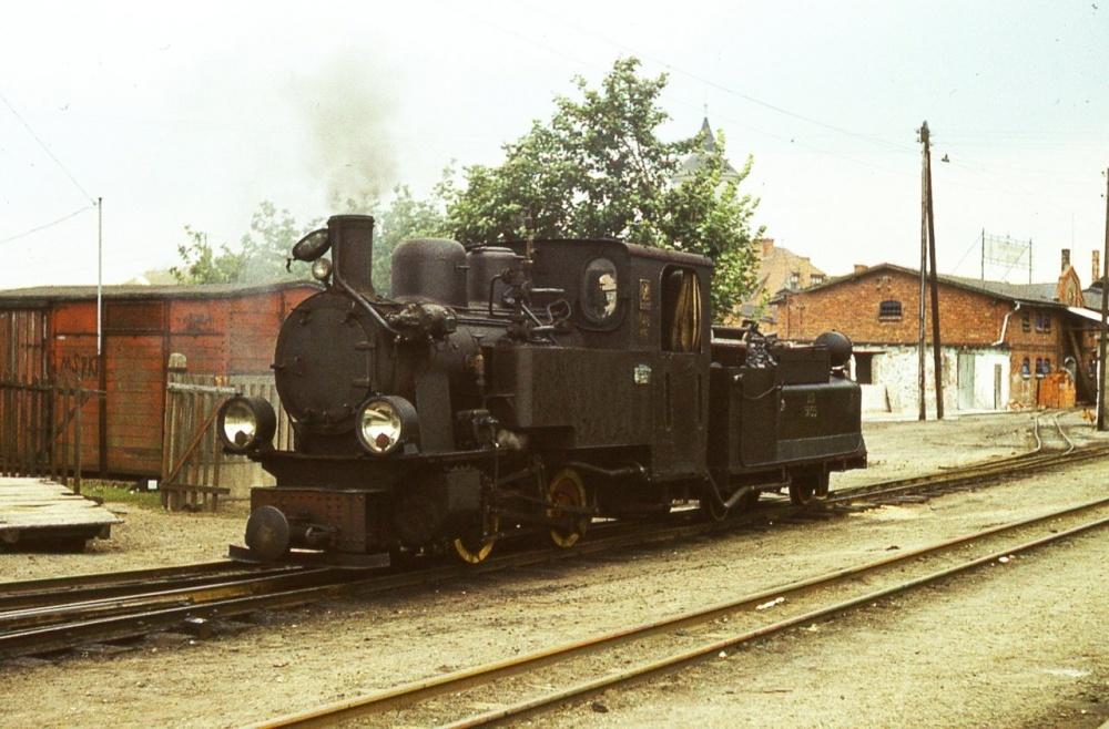Nowa lokomotywa parowa w bytomskiej wąskotorówce
