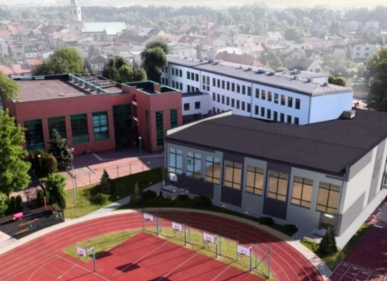 Postępy w pracach nad budową sali sportowej przy SP1