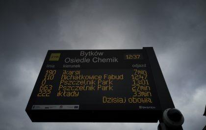 Tablica dynamicznej informacji pasażerskiej