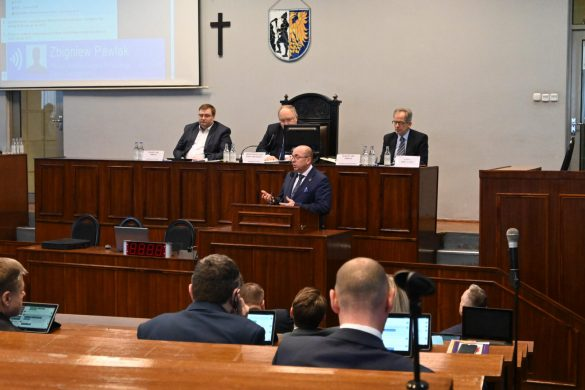 Sesja rady miasta w Tarnowskich Górach