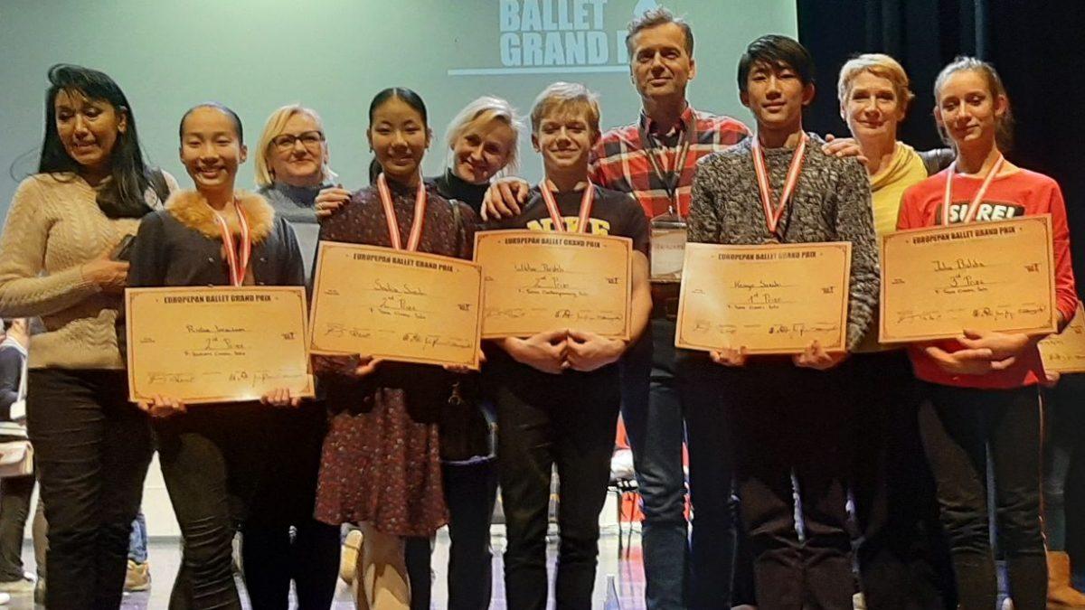 Uczniowie baletówki z wiedeńskim Grand Prix!