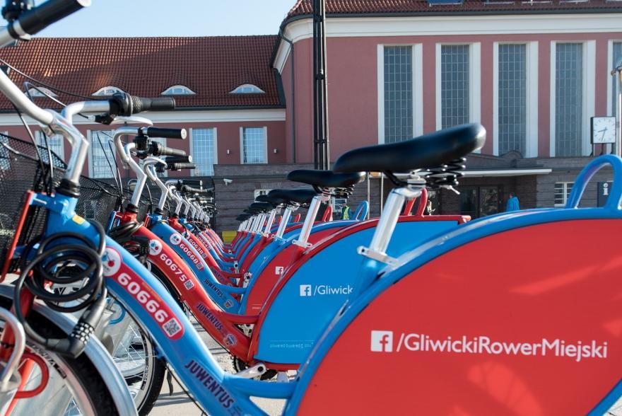 Gliwickie rowery miejskie