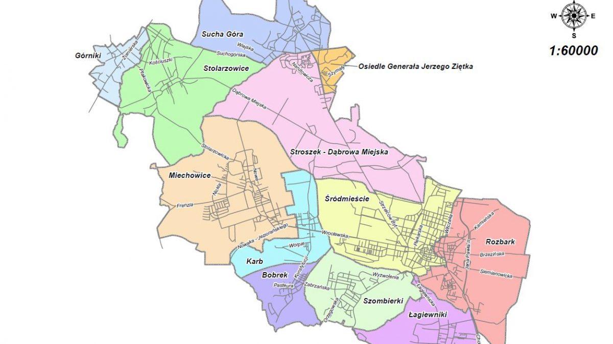 Czy w Bytomiu będą wyznaczone dzielnice? Ruszają konsultacje społeczne