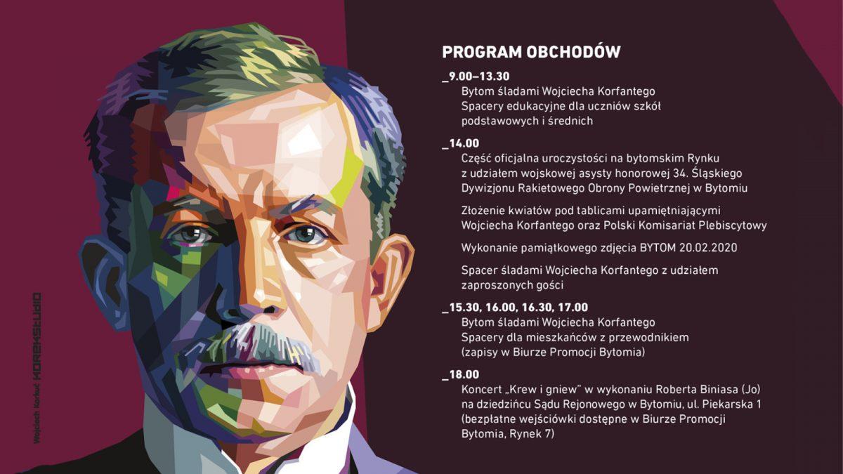Bytom świętuje 100. rocznicę powołania Wojciecha Korfantego na Komisarza Plebiscytowego