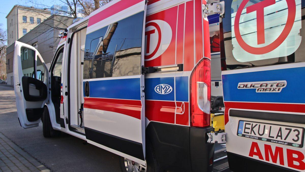 Milion dla szpitala, w tym ambulans z respiratorem
